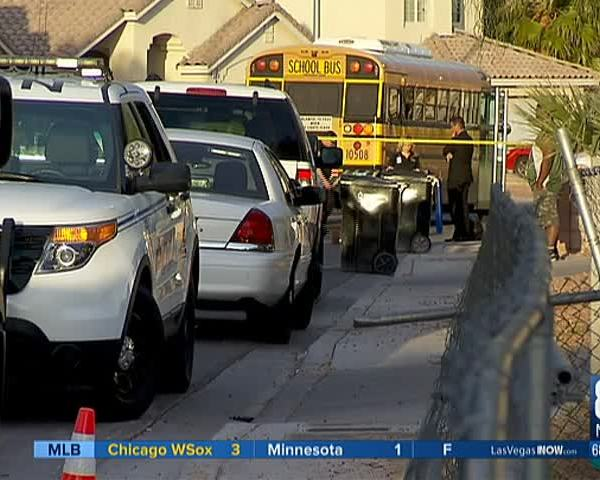 School bus strikes- kills toddler in NLV_79921474-159532