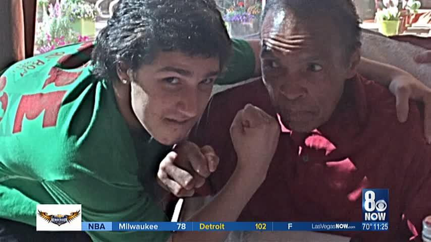 Ali-s grandson tries to insure brain health while boxing_79905500-159532