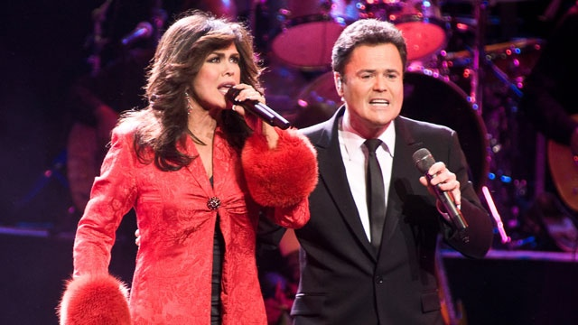 Donny and Marie to get star on Las Vegas Walk of Stars