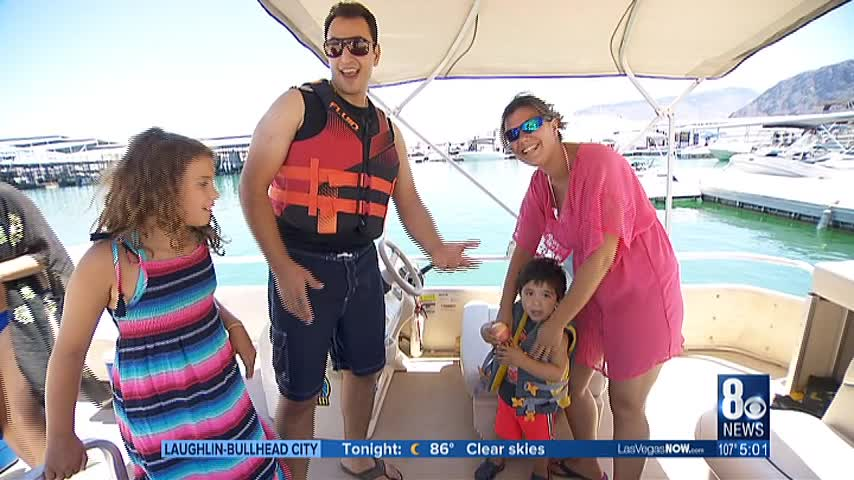 Boaters- swimmers reminded to stay safe while on Lake Mead_61615490