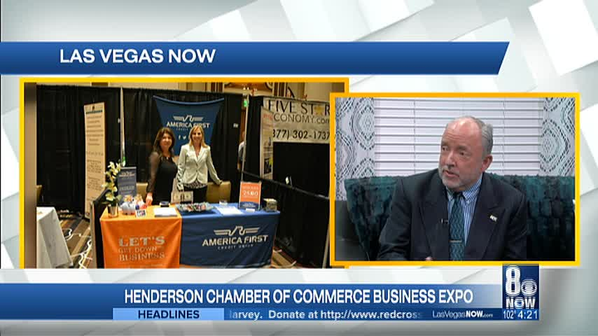 The Henderson Chamber of Commerce Business Expo is coming so