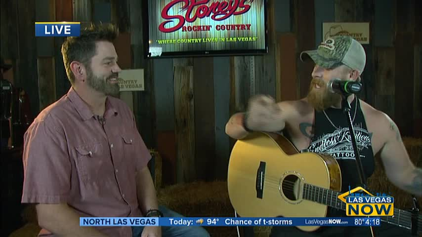 Jesse Keith Whitley performs live at Stoney's Rockin' Countr