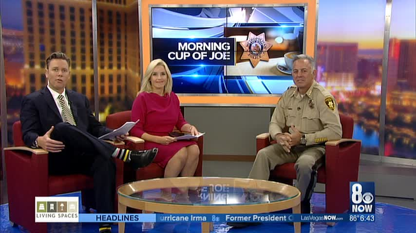 Sheriff Lombardo joins Good Day for Morning Cup of Joe