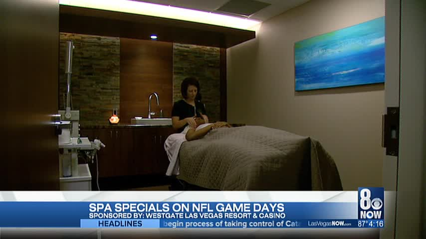 Serenity Spa has NFL game day specials