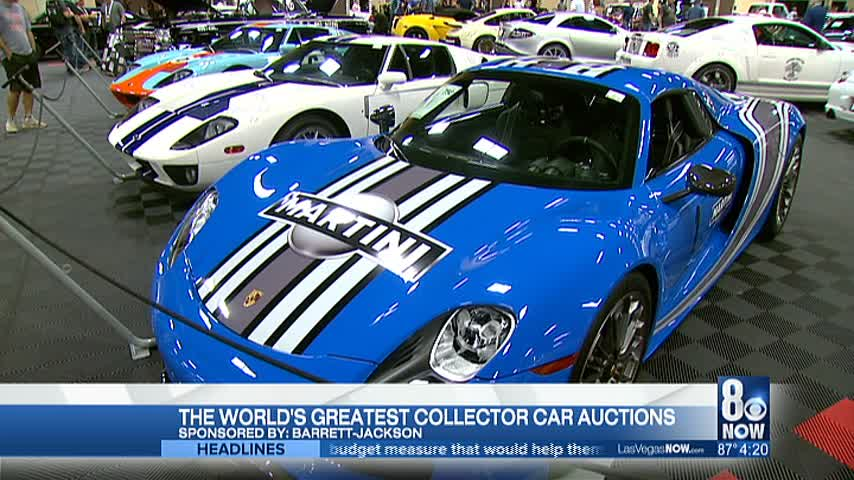 Barrett-Jackson is the world's greatest car auction