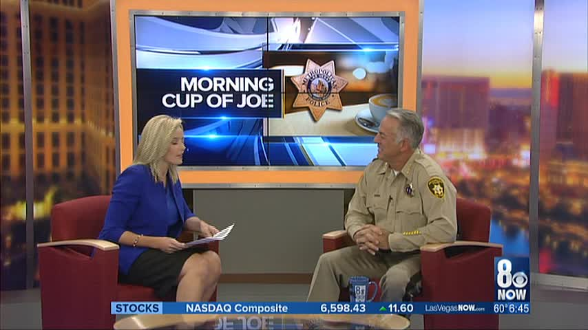 Sheriff Lombardo joins Kirsten for Morning Cup of Joe