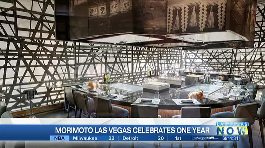 Morimoto Las Vegas celebrates one year