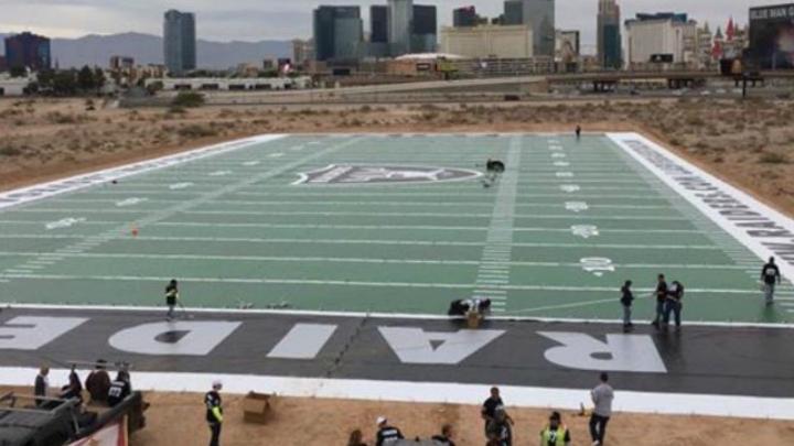 Groundbreaking Today For Las Vegas Raiders Stadium