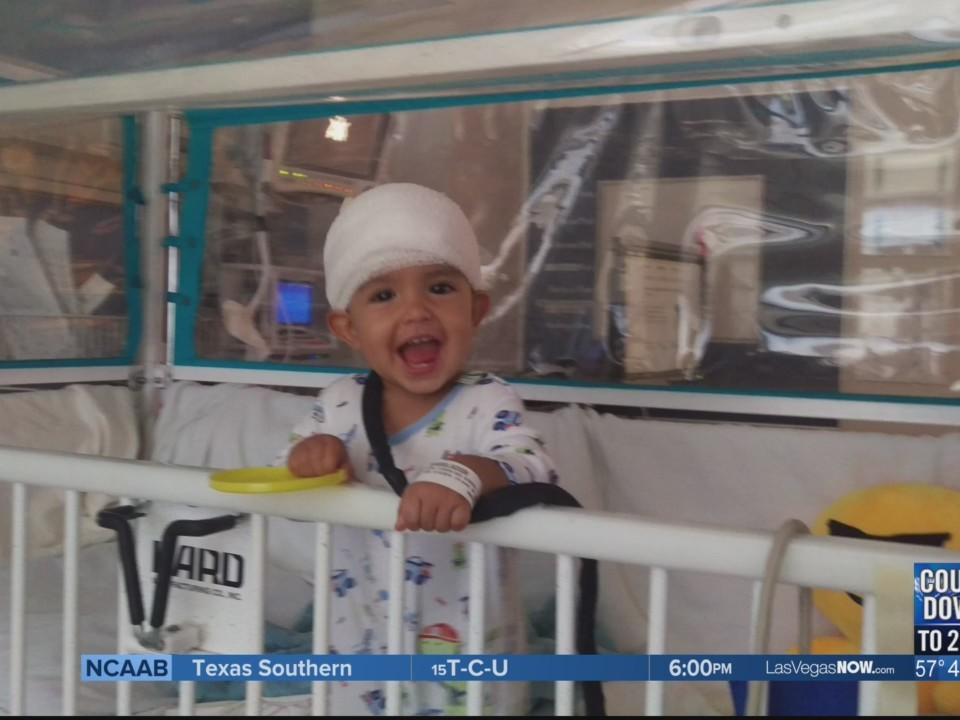 Baby Jackson is one of many helped by Miracle Flights