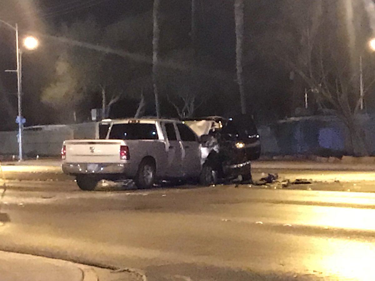 Deadly crash in North Las Vegas