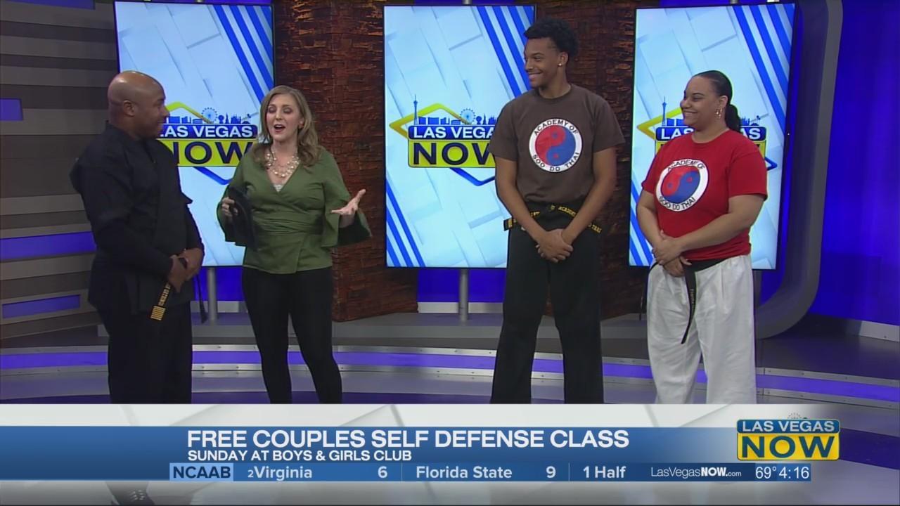 Free couples self defense class