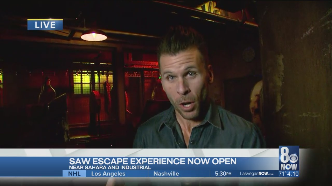 JC dives into the Saw Escape Experience