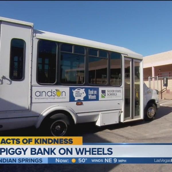 Piggy Bank on Wheels