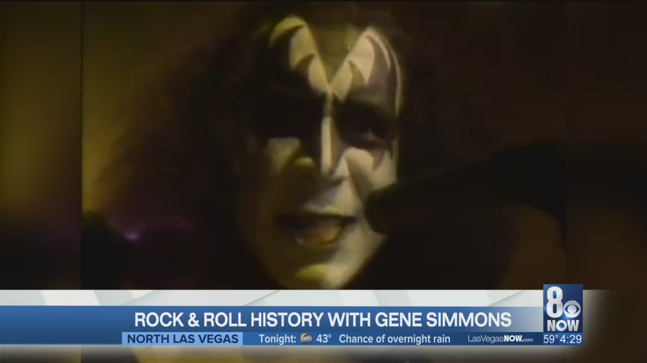 Rock & Roll history with Gene Simmons