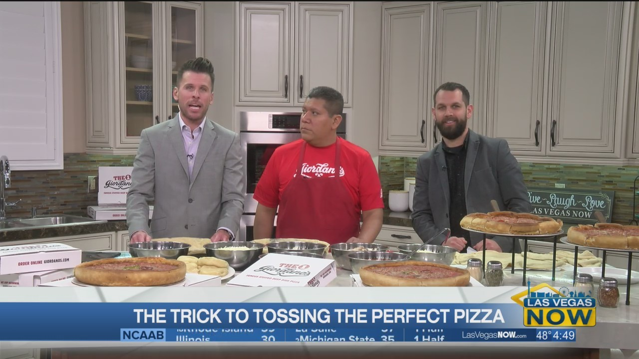 The trick to tossing the perfect pizza