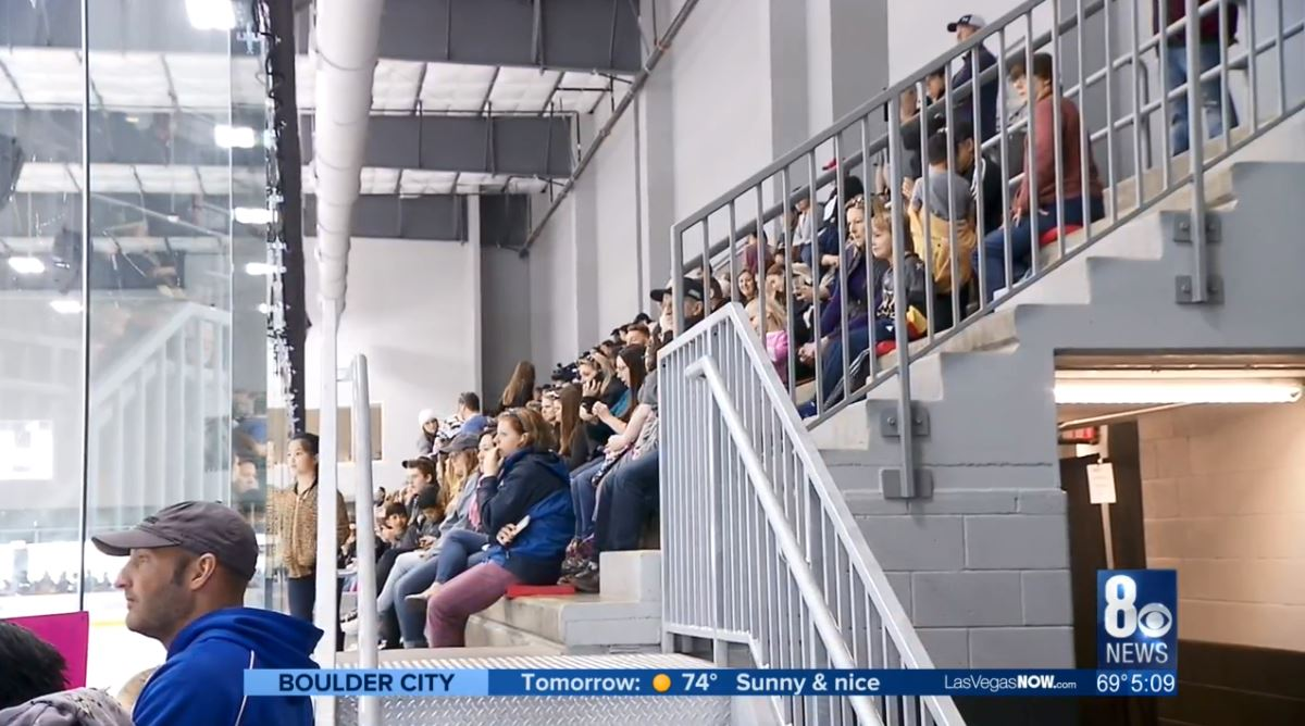 Fans allowed at Knights' practices at City National Arena
