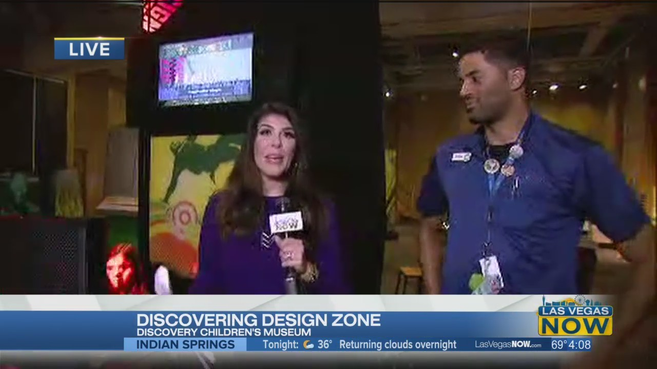 Mercedes checks out the Design Zone