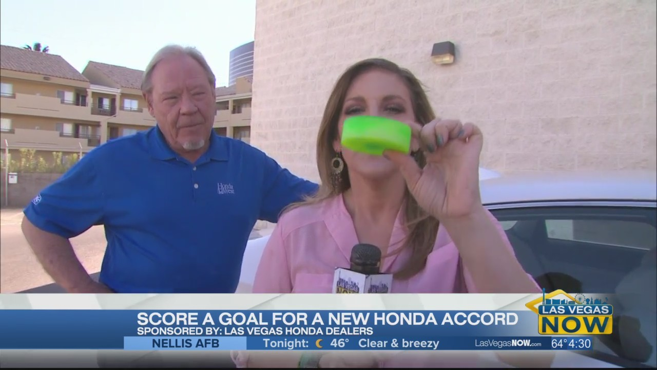 Score a goal for a new Honda Accord