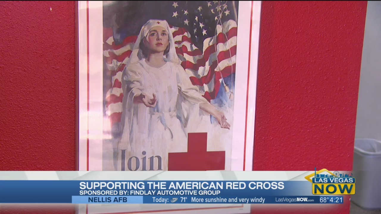 Supporting The American Red Cross