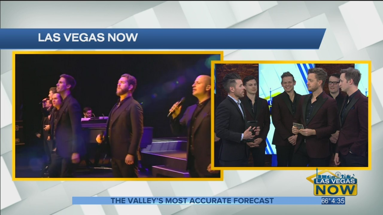 The Ten Tenors are performing at the Smith Center Tuesday Night