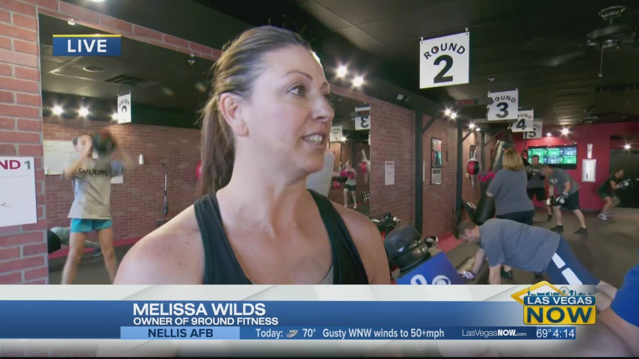 Kendall is live from 9Round Fitness