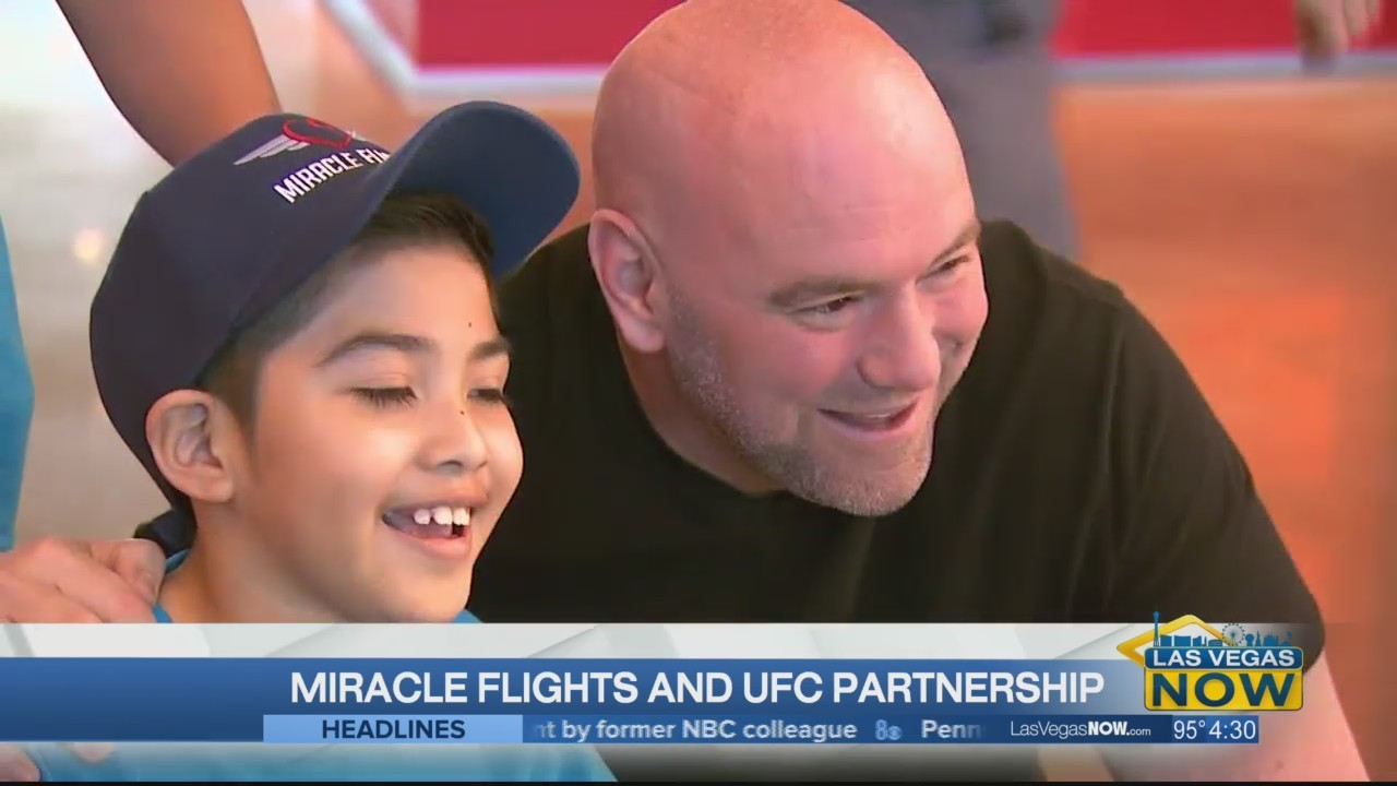 Miracle Flights is benefiting from their UFC partnership