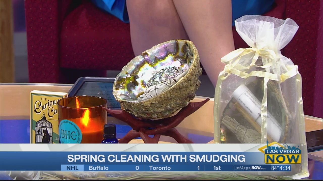 Spring cleaning with smudging