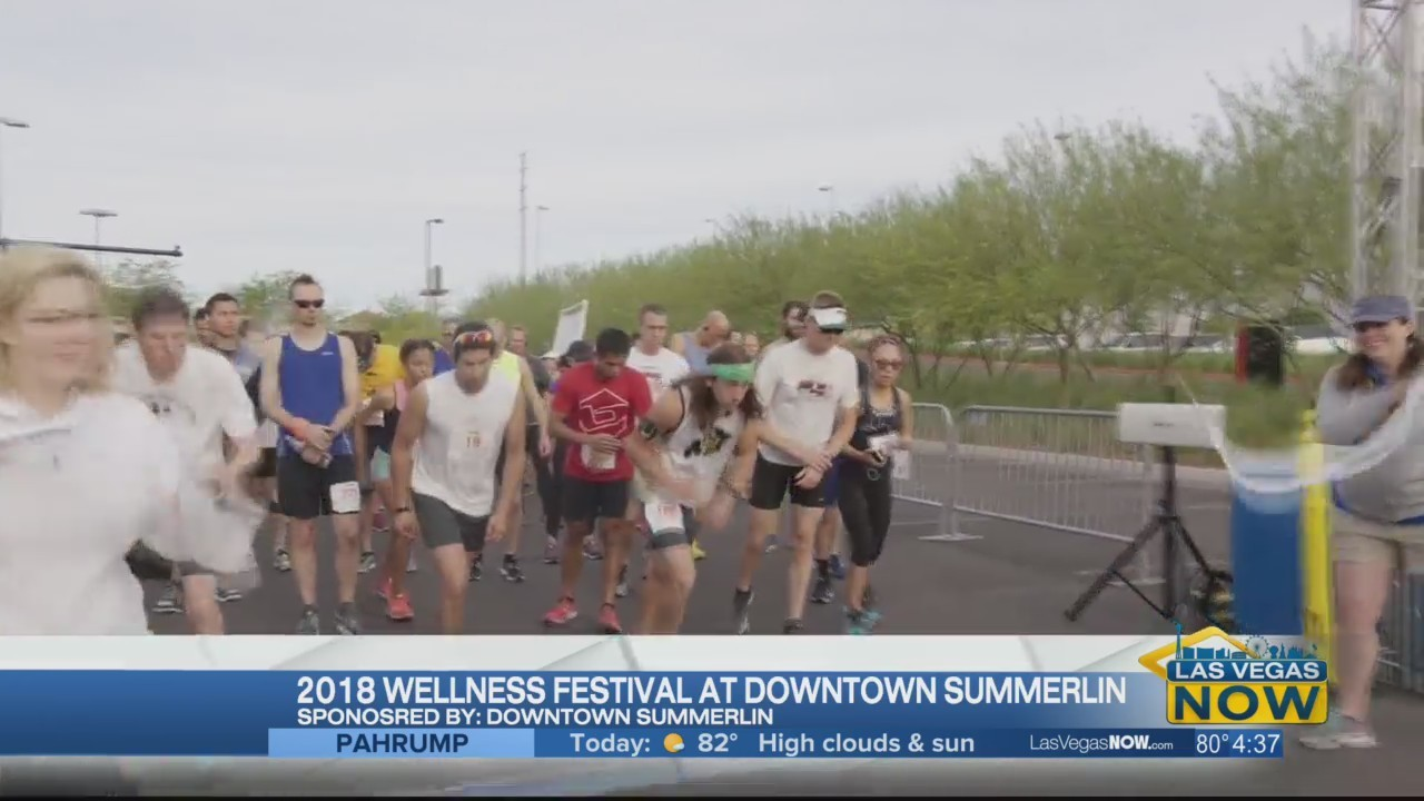 The 2018 Wellness Fest cycles to Downtown Summerlin