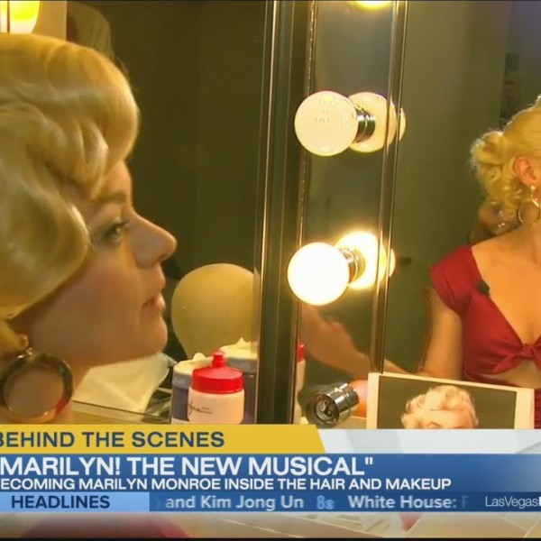 "Behind the scenes of the musical ""Marilyn"""