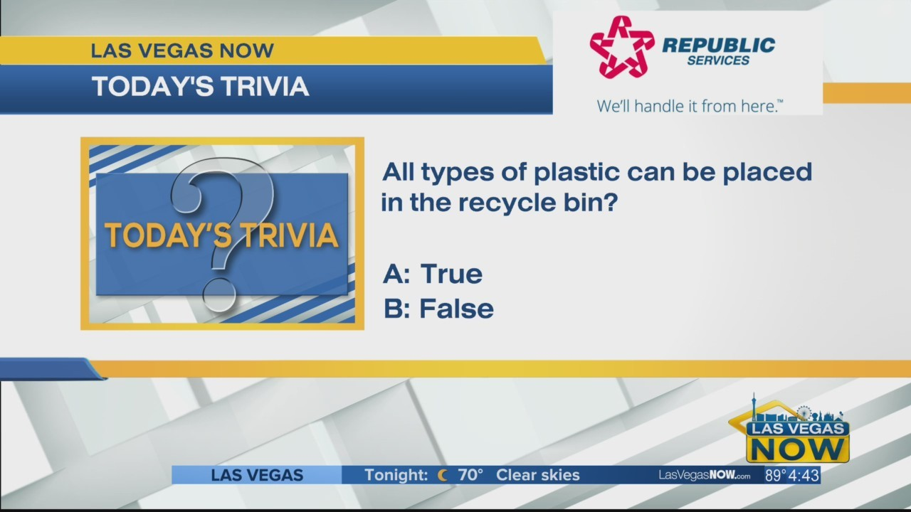 Can all types of plastic be recycled?