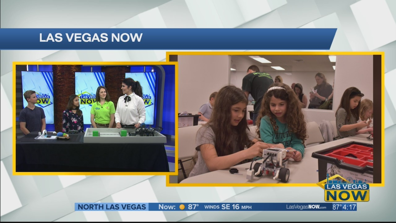 Engineering for Kids show off their projects
