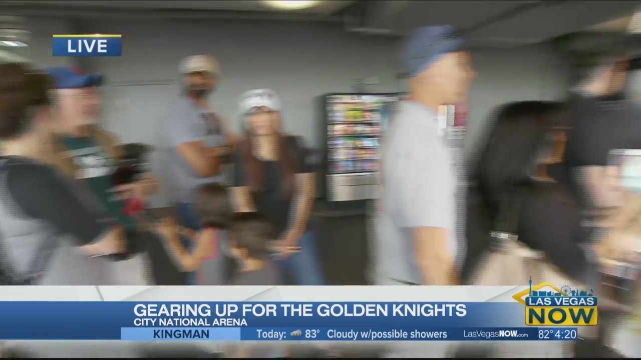 """Fans are """"Gearing Up"""" for Knights merchandise"""
