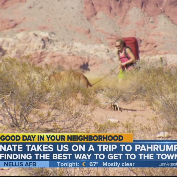 Nate in Pahrump: The long way there, if you have the time