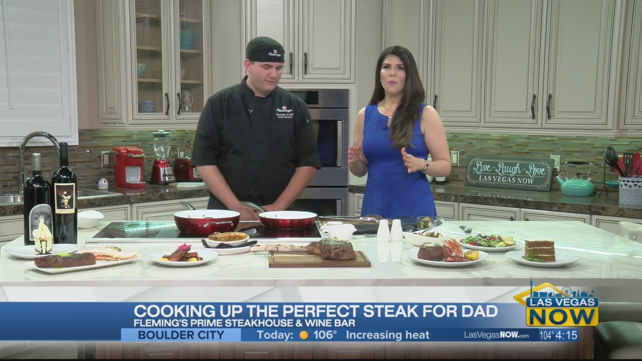 Cooking the perfect steak for dad