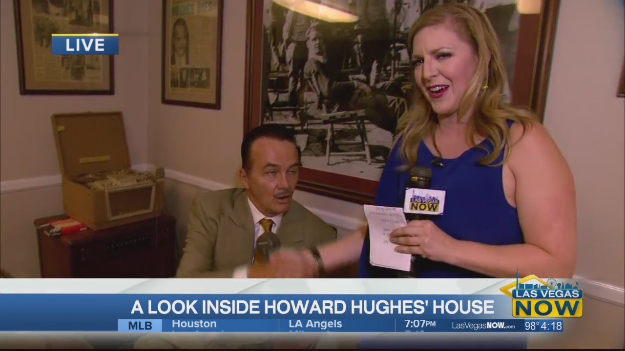 A look inside the Howard Hughes house