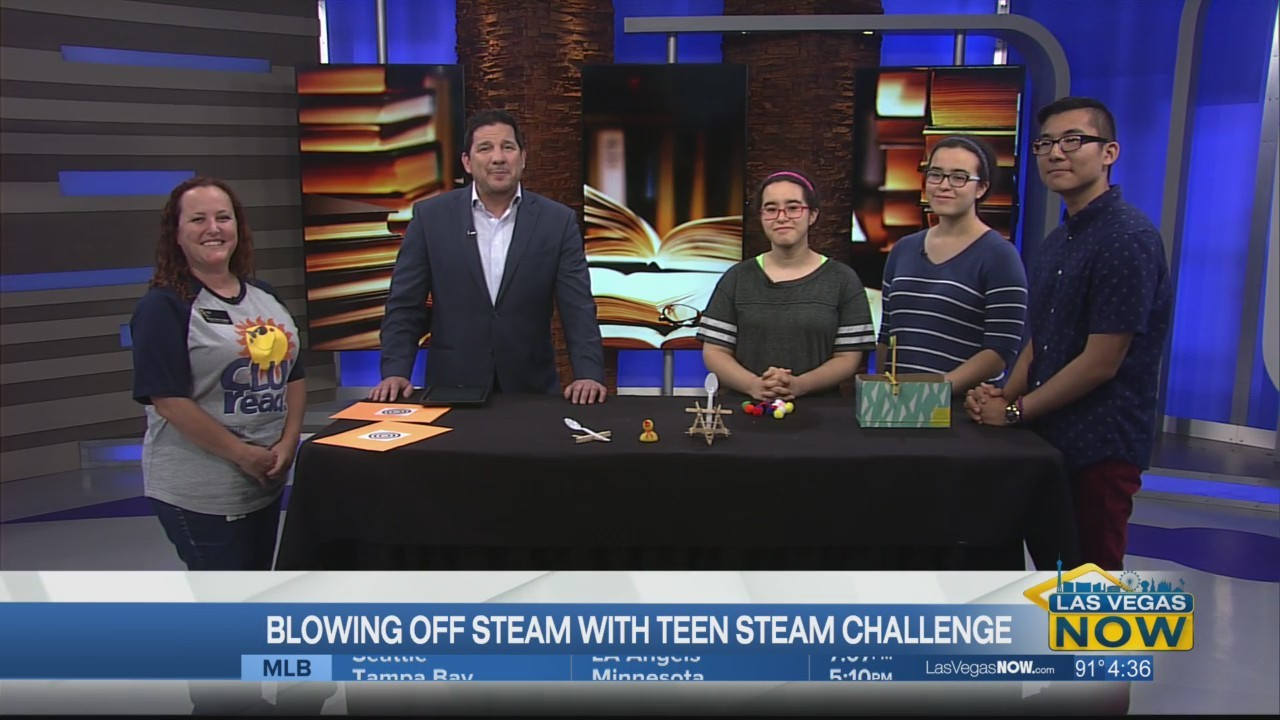 Blowing off steam with the teen steam challenge