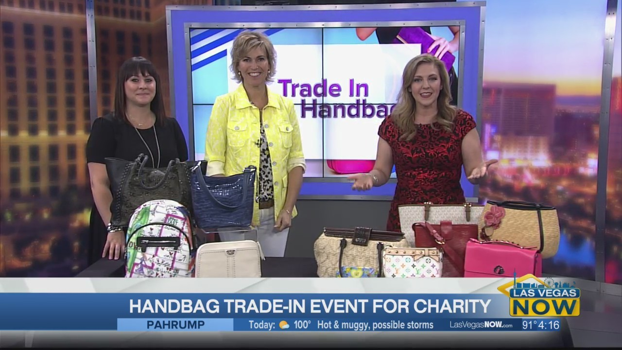 Handbag trade-in event for charity