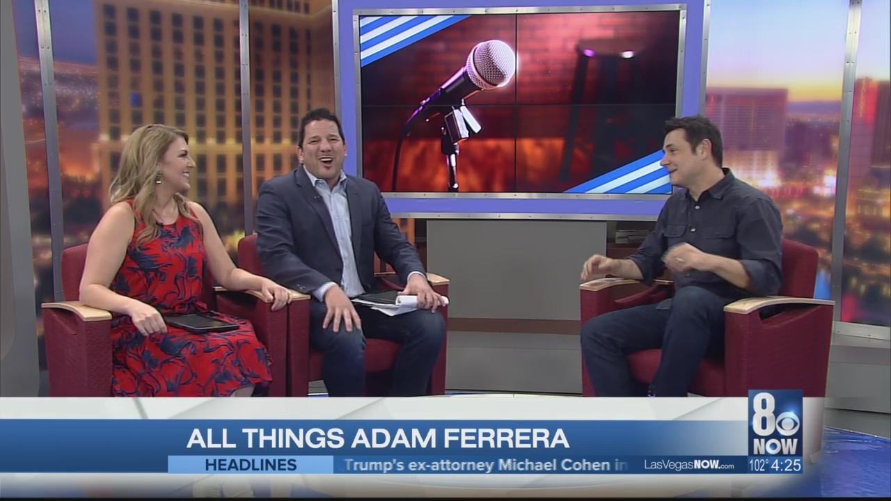 Actor/comedian Adam Ferrara brings comedy to the strip