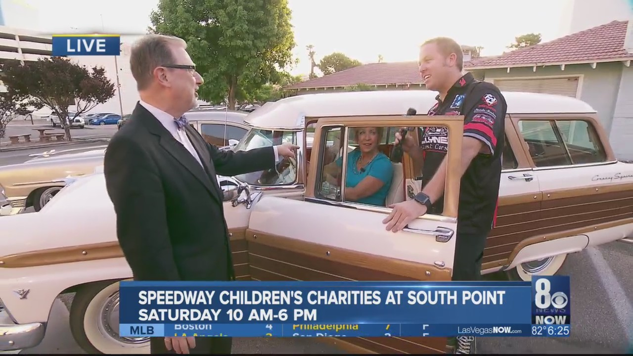 Classic cars raise money for Children's Charities this weekend.