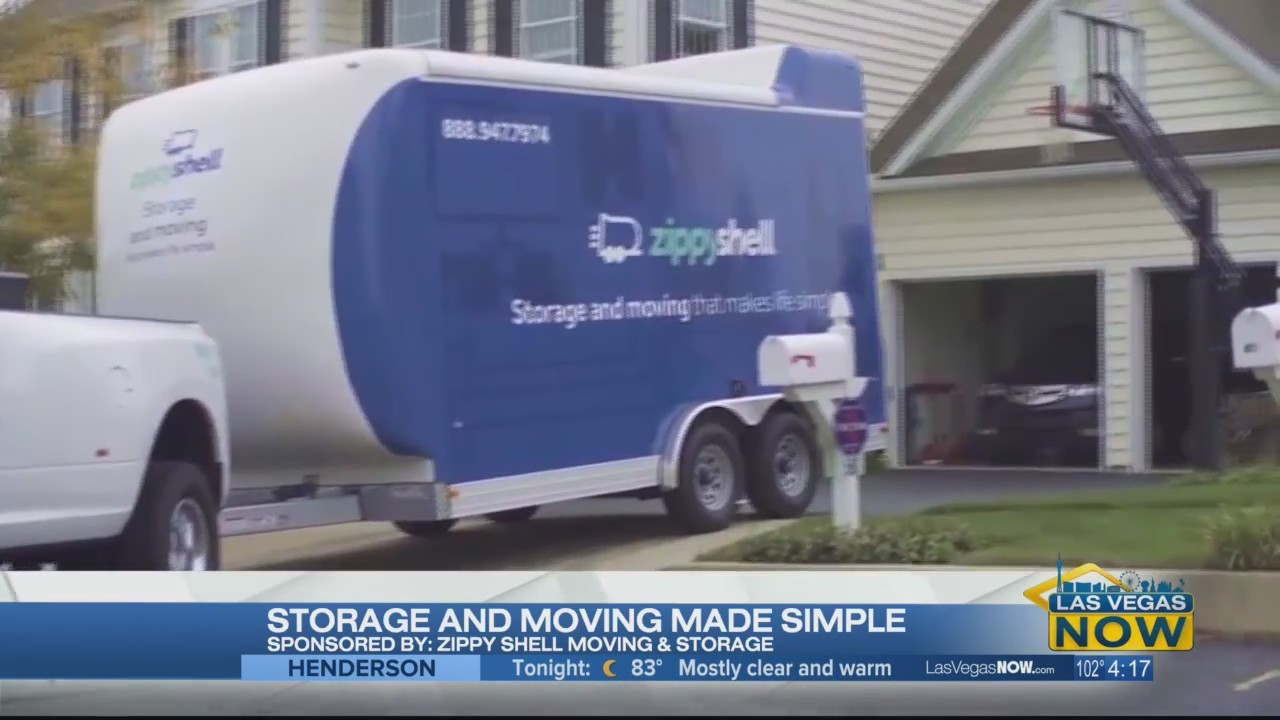 Storage and moving made simple with Zippy Shell