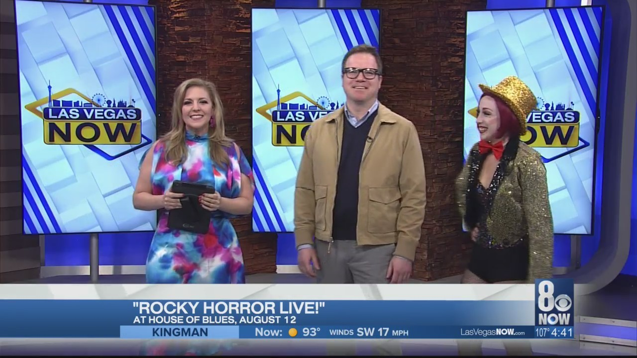 The cast of Rocky Horror Live joins LVN