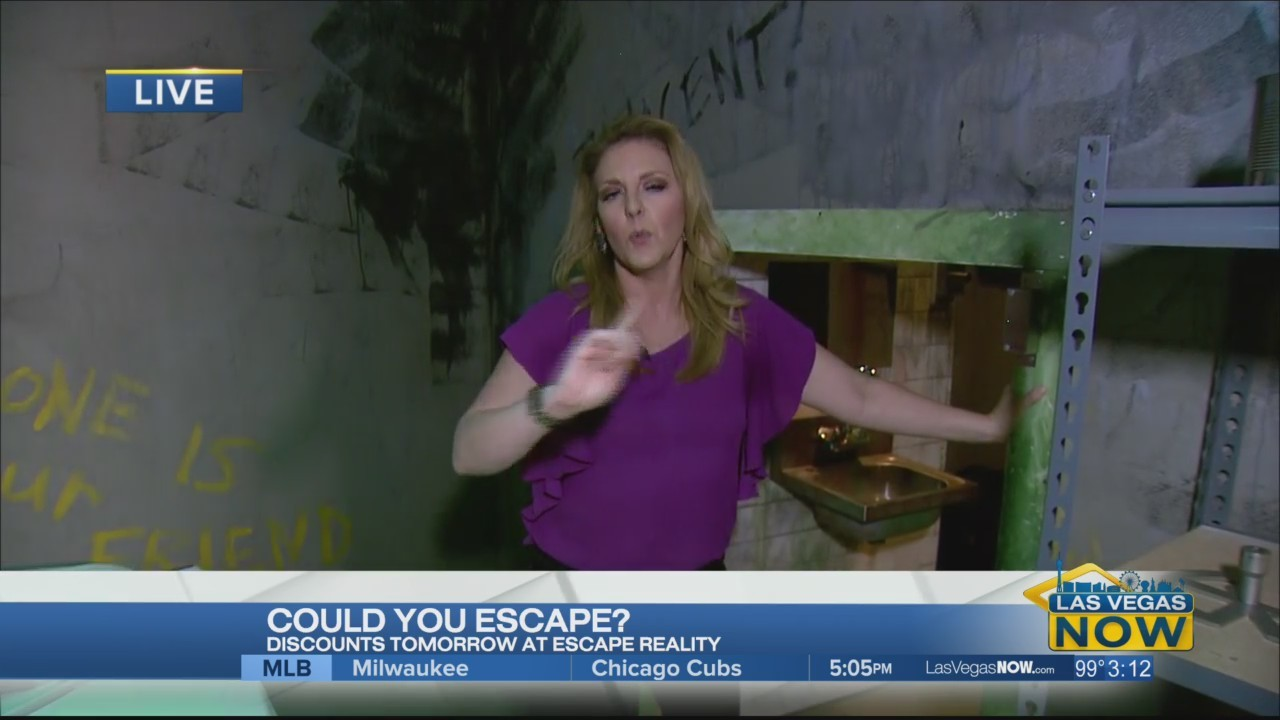 Courtney checks out the valley's newest escape room
