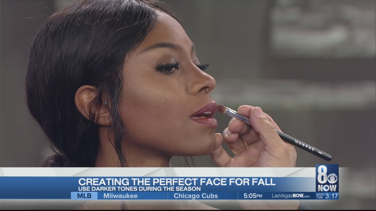 Creating the perfect face for fall