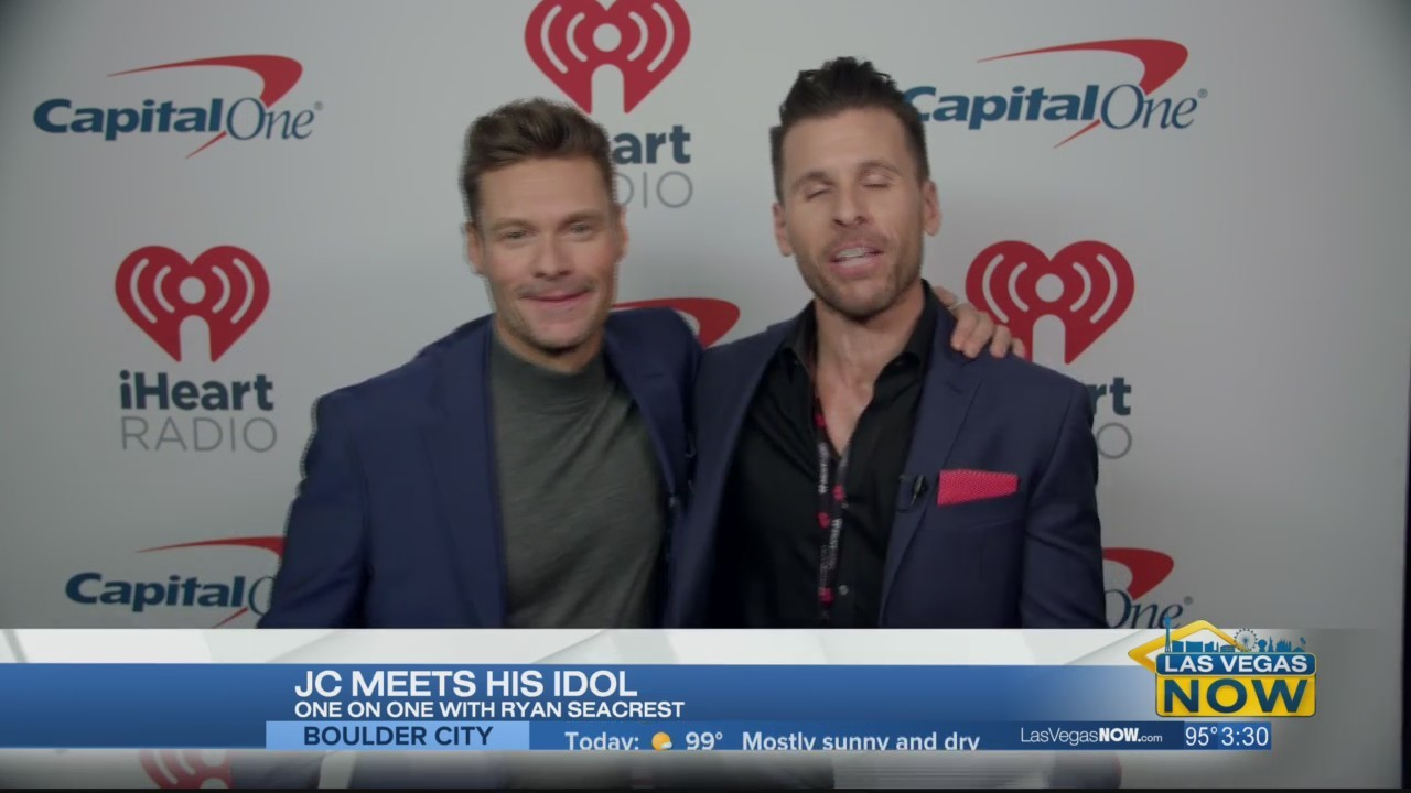 JC goes 1-on-1 with Ryan Seacrest