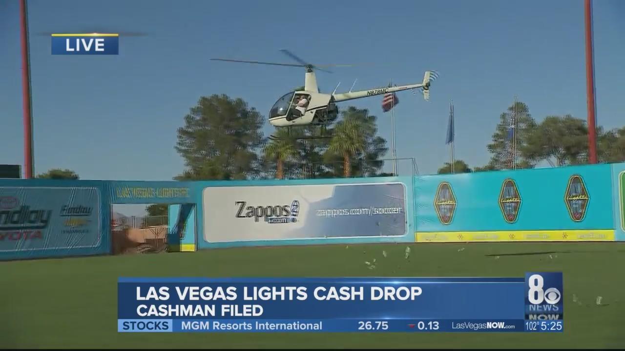 Las Vegas Lights cash drop takes over Cashman