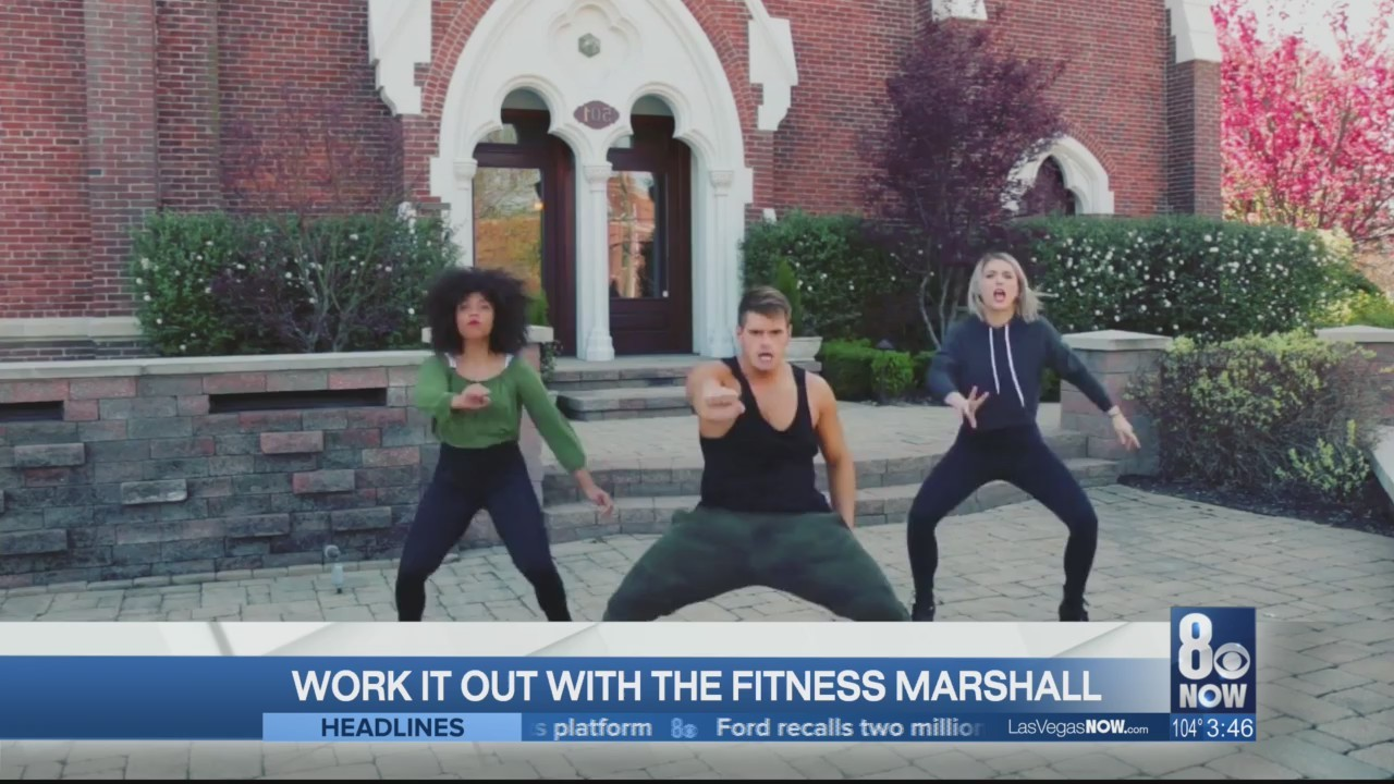 Work it out with the Fitness Marshall