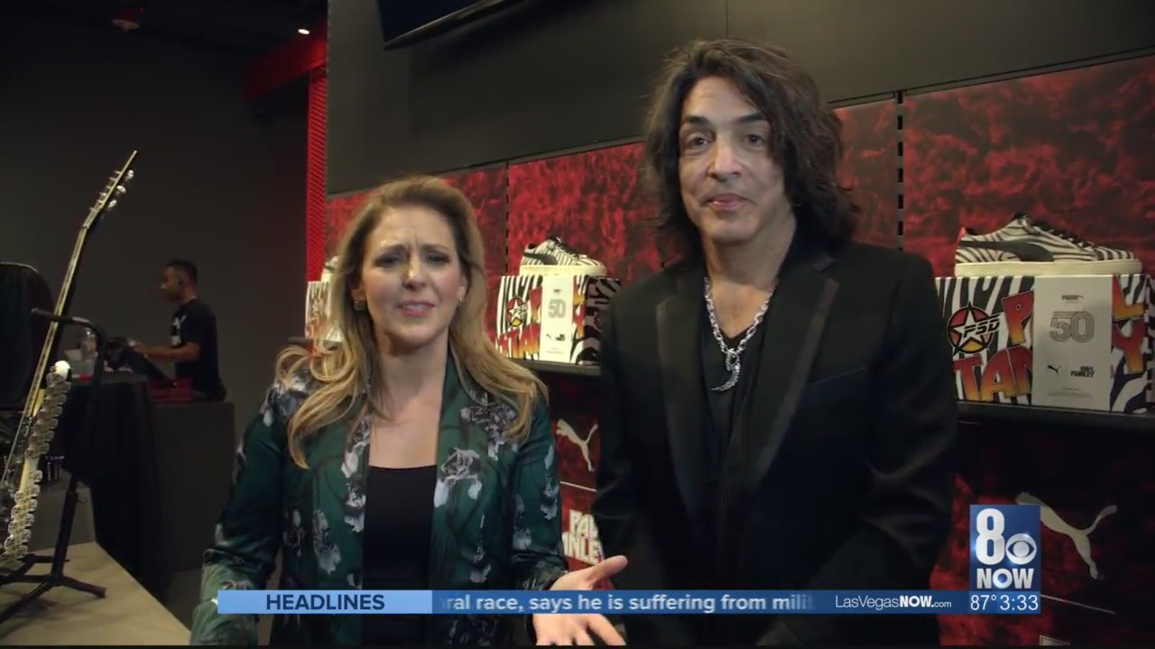 KISS front man Paul Stanley releases a new shoe