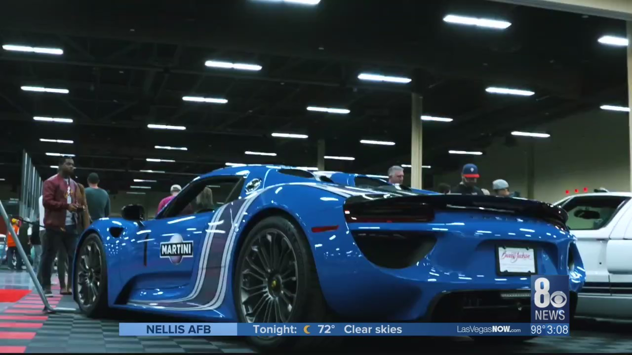 Kendall is live from the Barrett Jackson auction