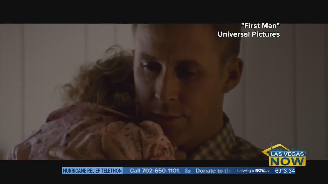 "Lindsey interviews ""First Man"" director Damien Chazelle & Mark Armstrong"