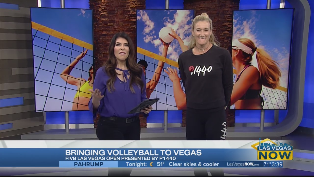 Olympian Kerri Walsh-Jennings is bringing volleyball to Vegas